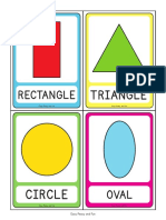 2D Shapes Flashcards 1