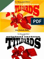 Original Cartoon Title Cards from Frederator Studios