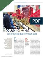 Normandie coquillages