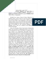 Heirs of Faustino Mesina vs. Heirs of Domingo Fian, Sr.