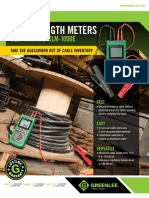 cable length tester - Greenlee CLM-1000E.PDF