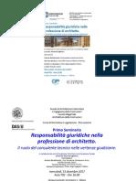 1° Seminario 13 dic 17 Responsabilità Giuridiche Architetto.pdf