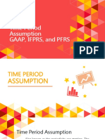 Chapter 6 Time Period Assumption, GAAP, IFRS, And PFRS