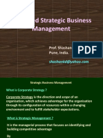 Advances Strategic Management Concepts