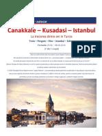 REVELION 2020 - AUTOCAR Canakkale - Kusadasi - Istanbul