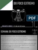 Desafio 01 Foco Extremo