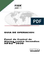 Guia de Operacion Panel Notifier