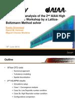 Lift Drag Tres Important Comraisson Aerodynamic Analysis Xflow