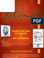 Literature Searching Techniques and HEC Databases.pptx