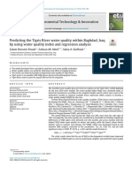 Predicting the Tigris River water quality within Baghdad, Iraq.pdf
