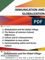 Communication and Globalization (1)
