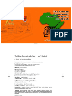 African Community Radio Managers Handbook