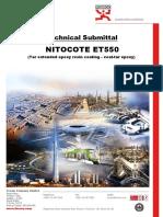 NITOCOTE ET550