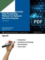 Spark framework for Network Security