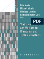 Statistical Models And Methods