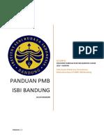Panduan Pmb Online 2019 - Mandiri
