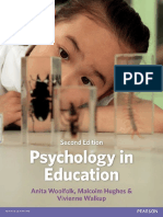 Psychology in Education - Anita E. Woolfolk