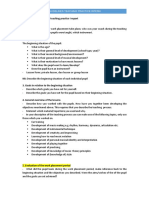 Guidelines for Writing a Teaching Practice I Report (PCC)