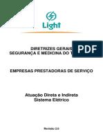 directrizes gerais de sistema de segurança e medicina do trabalho