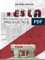 Catalogo Transformadores TESLA