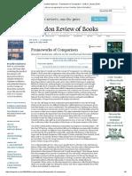 Review - Frames of Comparison