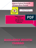 Manajemen Industri Farmasi Dan Pedagang Besar Farmasi 2
