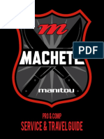 MY18 Machete Service and Travel Guide