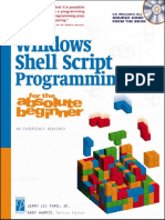Windows Shell Script Programming for the Absolute Beginner