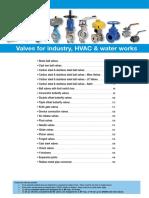 I01 - Valves for Industry-HVAC & Water Works_SP