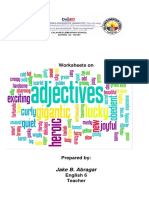 Adjectives Worksheets Booklet