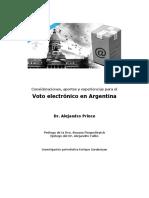 Voto electrónico en argentina
