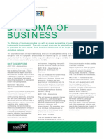 Course Planner Diploma of Business