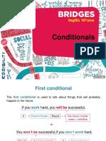 Conditionals - Inglês 10º ano