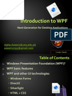 Intro to WPF