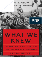 [Eric a. Johnson, Karl-Heinz Reuband] What We Knew