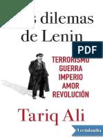 Los Dilemas de Lenin - Tariq Ali