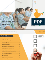 Education and Training October 20171