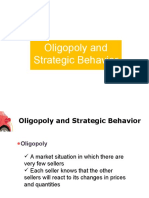 Oligopoly and Strategic Behavior