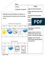 Weather Study Guide