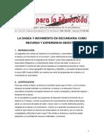 Danza CCOO Andalucia