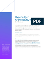 Hyperledger Arch WG Paper 2 SmartContracts