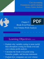 BEP n CVP Analysis