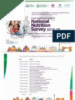 National nutrition Serve of Pakistan