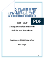 2019 8th grade pandp