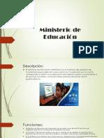 Ministerio de Educación celess.pptx