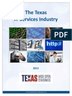 IT services industry in texas
