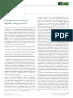Wojciechowski, M. F. (2019). Tracing the History of Chromosome Evolution in Legumes Using Genomics. New Phytologist. Tracing the History of Legumes