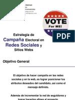 Campaña Electoral en Redes Sociales