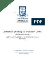 Vision General de la contabilidad y estados financieros