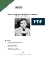 Informe sobre Roberto Matta
